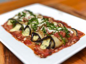 Delish Eggplant Rollatini