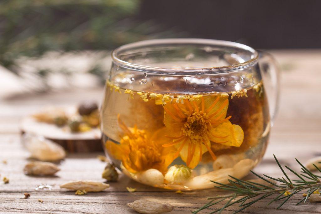 Jasmine Tea in a Cup
