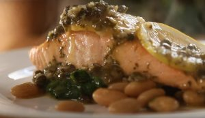 Piccata-Styled Salmon
