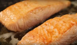 Searing Salmon in Butter
