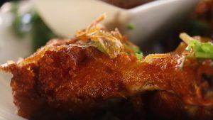 Spicy Garlic Fried Chicken