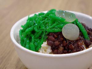 green noodles cendol