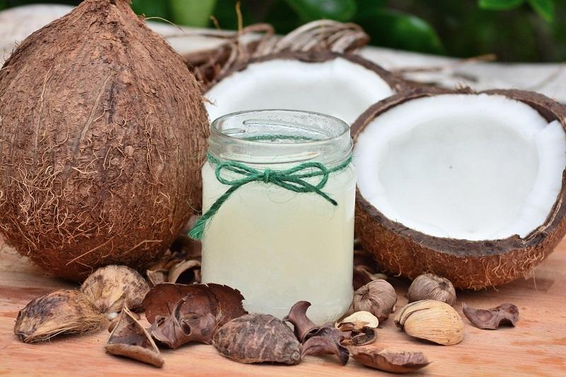 Junge Kokosnuss