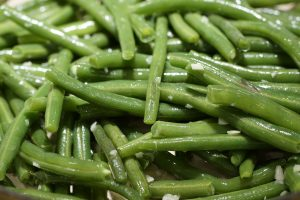 blanched long beans