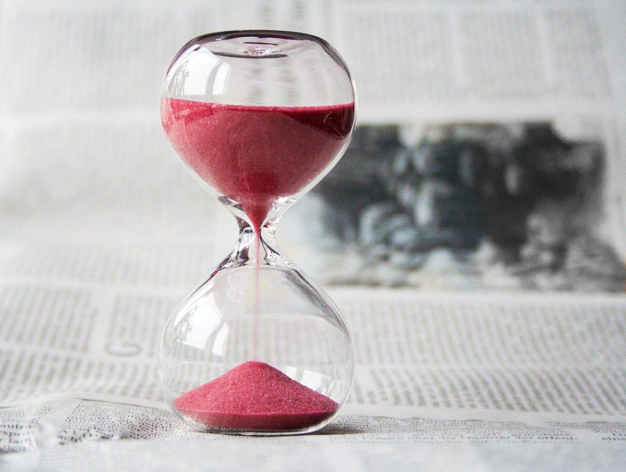 Zeitplan für ein Grosshandelsgeschäft