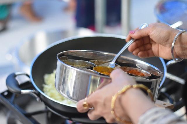 Asiatische Lebensmittel: Zubereitung