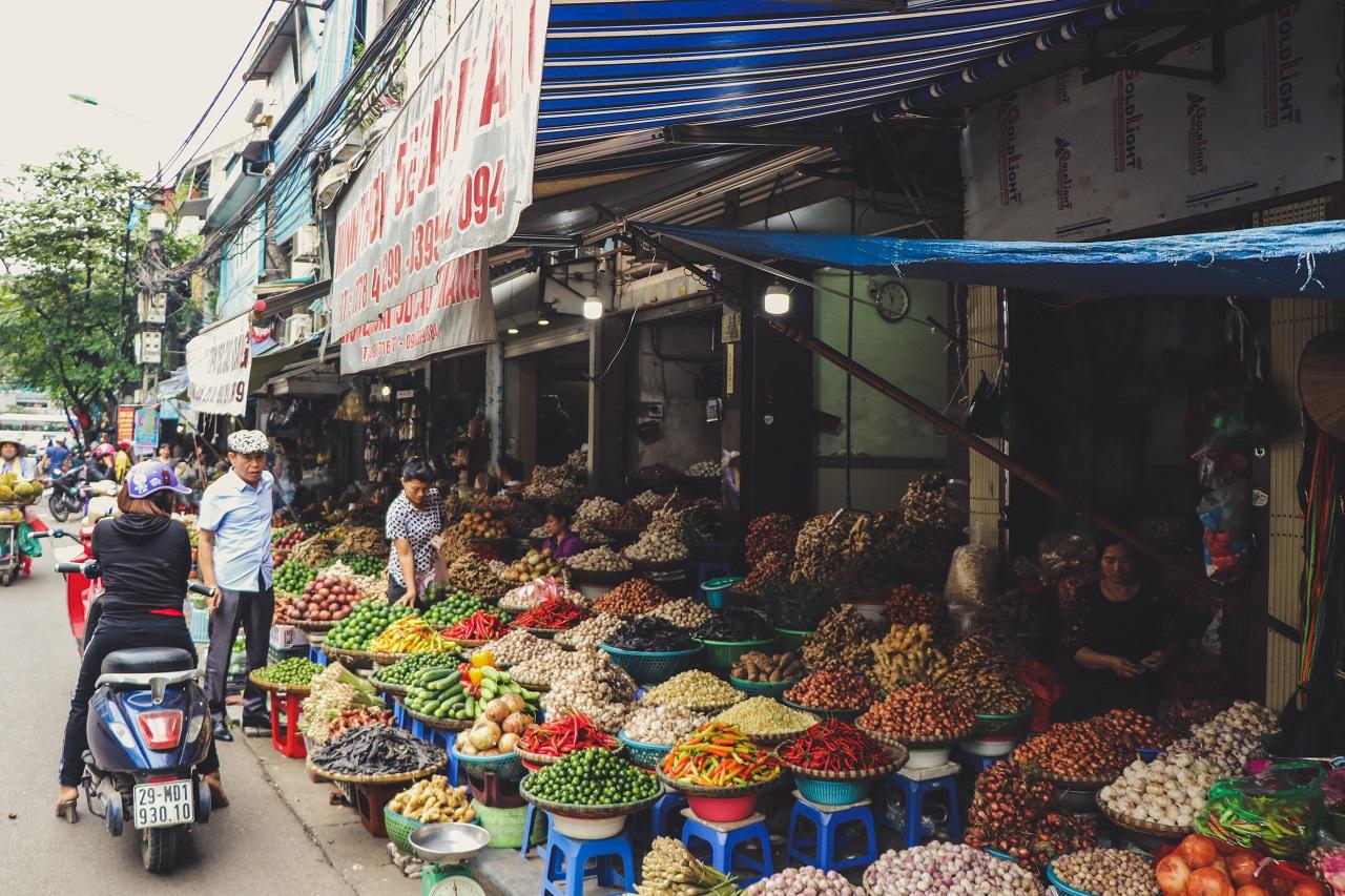 Asiatische Lebensmittel aus Vietnam