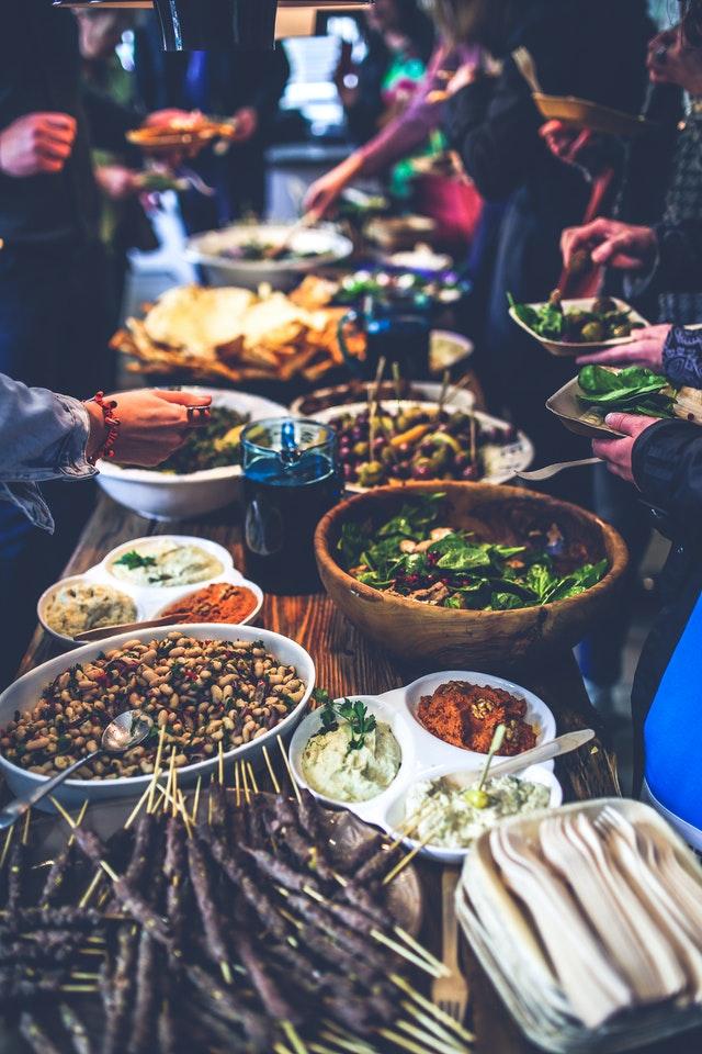 Asiatische Lebensmittel: Diverse Gerichte