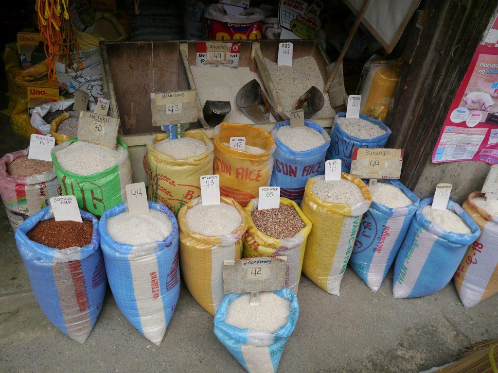 Bags of Basmati Rice