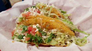 Prepared Mexican Chicken Taco