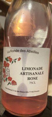 Limonade artisanale a la rose