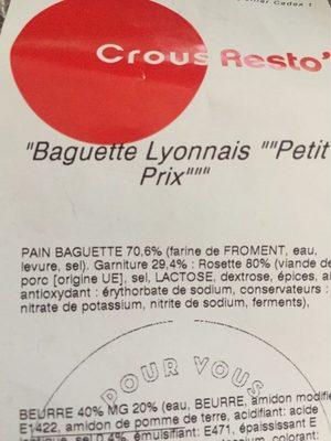 Baguette Lyonnais