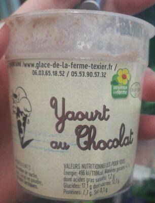 Yaourt au chocolat