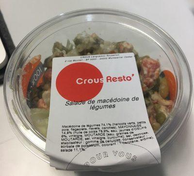 Salade de macedoine de légumes