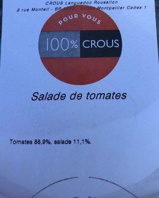 Salade tomate