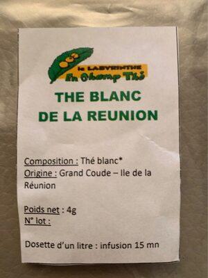 Thé blanc de la Reunion