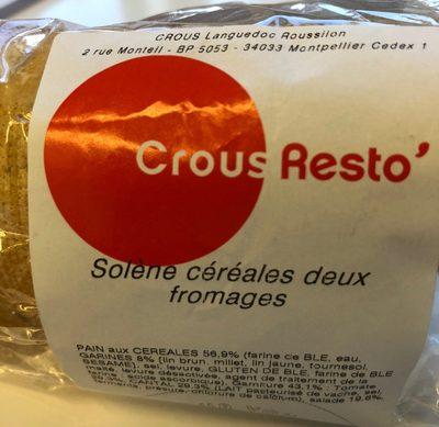 Solène céréales deux fromages