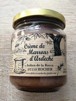 Crème de marrons d Ardèche