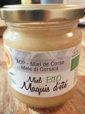 Miel Corse BIO maquis d'été