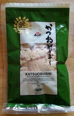 Katsuobushi (Dried and smoked bonito flakes)