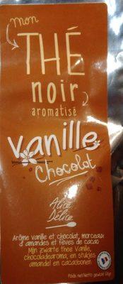 Vanilla-chocolate flavoured black tea