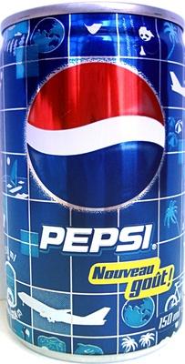 Pepsi, Nouveau goût !