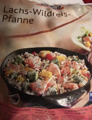 Poêlée de riz et saumon sauvage