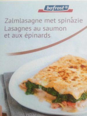 Lasagnes aux saumon et aux épinards