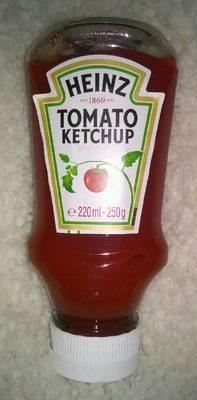 Tomato Ketchup Heinz Ouverture En Bas