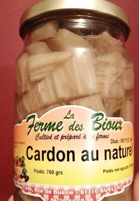 Cardon au naturel