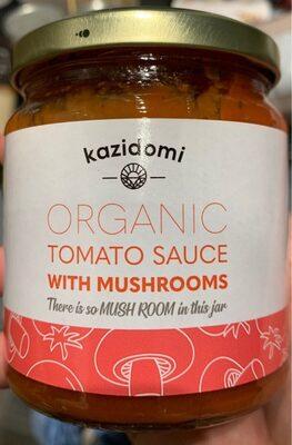 Sauce tomate aux chamoignons