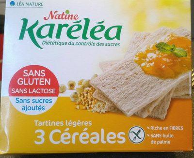 Tartines légères 3 céréales