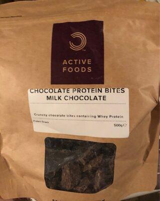 Chocolate protein bites