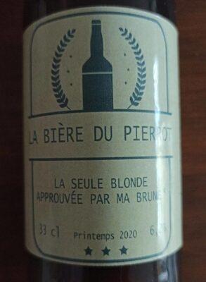 La bière du Pierrot