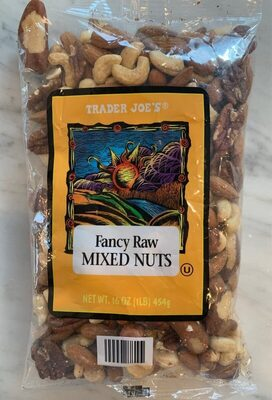 Fancy raw mixed nuts