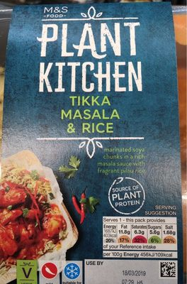 Plant Kitchen tikka masala rice