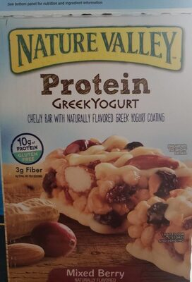 Nature Valley Greek Mixed Berry Bars