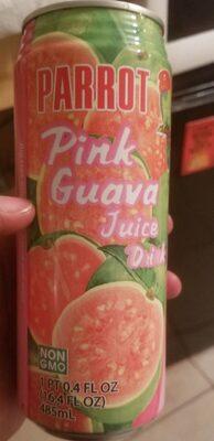 Parrot brand, pink guava juice