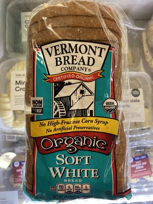 Vermont Bread Company Organic Soft White Bread