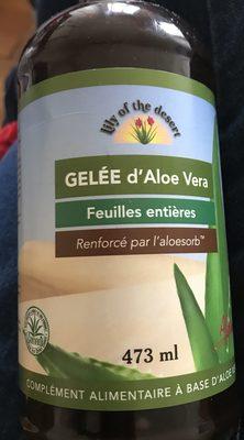 Gelée D'Aloe Vera - 473 ML - Lily of the Desert
