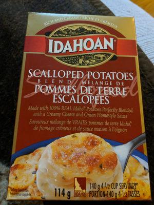 Mélange de pommes de terre escaloppées