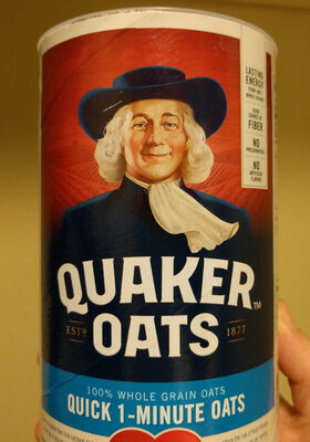 Quaker, 100% natural whole grain oatmeal