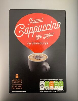 Instant Capuccino Low Sugar