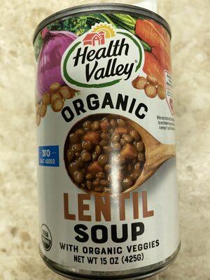 No Salt Added Lentil Soup