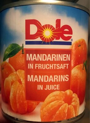 Mandarinen in Fruchtsaft