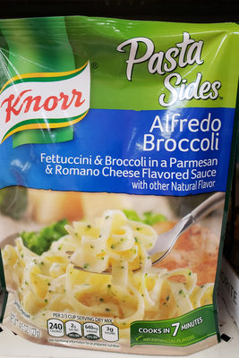 Pasta sides alfredo broccoli