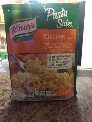 Pasta sides chicken flavor