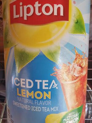Sweetened iced tea mix