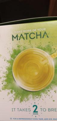 Mint green tea with japanese matcha tea bags