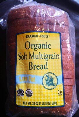 Soft multigrain bread